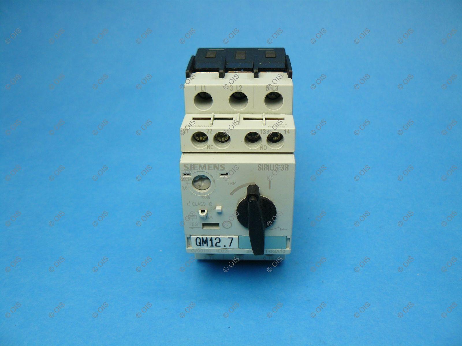 Siemens 3RV1021-0GA10 Sirius IEC Manual and similar items
