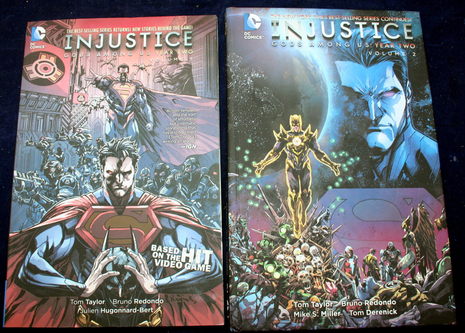 Primary image for INJUSTICE: GODS AMONG US Year 2, Vol 1-2 Miller Buccellato Redondo Taylor FP mix