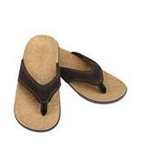 Spenco Men's Yumi Select - Dark Brown Leather (9) - $58.79