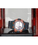Pre-Owned Men's Armitron Grey & Orange 40/8320 Digital Sports Watch - $15.84