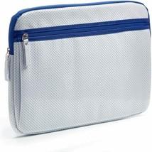 Studio C Sleeve for 16-Inch Laptop 42cm Long x 30cm Wide, White/Blue - $14.84