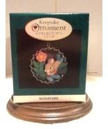 Hallmark Keepsake Ornament - Holiday Bunny Bottlecap - 1996 - QXC4191 - $7.95