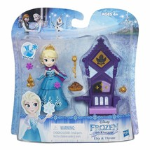 Disney Frozen Little Kingdom Elsa & Throne Snap-Ins w/Included Accessories - $16.78