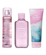 3 Piece Pink Coconut Calypso Set- Body Wash, Shea Cream and Fragrance Mist - $27.50