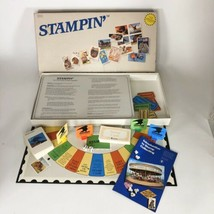1989 Stampin'  USPS branded board game complete  - $17.82