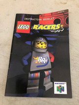Lego Racers Nintendo N64 Game Instruction Booklet Manual Only - $3.86