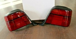 Tail Lights BMW E36 Touring Wagon OEM Euro Rear Set All red Tinted 1992-... - $167.31