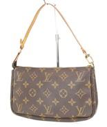 Authentic LOUIS VUITTON Accessory Pochette Monogram Hand Bag #39212 - $575.10