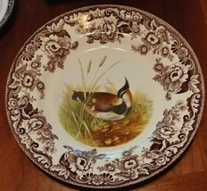 """Spode WOODLAND Lapwing Dinner Plate 10.75"""" - $63.21"""