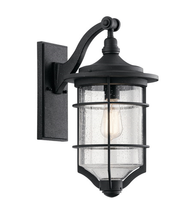 Kichler 49127DBK Royal Marine Outdoor Wall Sconces 10in Distressed Black - $269.99