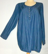 Triangle by S. Oliver Women's Plus Size 20W Cotton Blend Long Sleeve Top... - $29.99