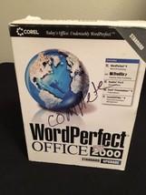 Corel Wordperfect Word Perfect 2000 9.0 Office Standard - $24.74