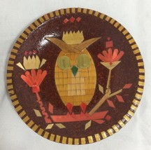 "OWL Lover Trinket Dish Tray for Jewelry, Rings or Keys 4"" Decoupage Gras... - $17.64"