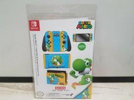Nintendo Switch Skin & Screen Protector Set - Super Mario YOSHI - $17.09