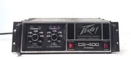 Peavey CS-400 Power Amplifier 2 Channel Stereo 400W  - $139.89