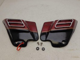 1993-1996 Harley Davidson Touring Flh Side Covers Chrome Rail 30TH Anniversary - $174.95