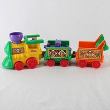 Fisher Price Little People Musical Zoo Train Engine with 2 Cars - $16.99