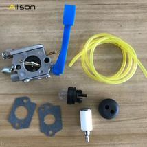 Carburetor Fuel Line Kit F Zama C1Q-W37 Husqvarna 125B 125BX 125BVX # 54... - $13.56