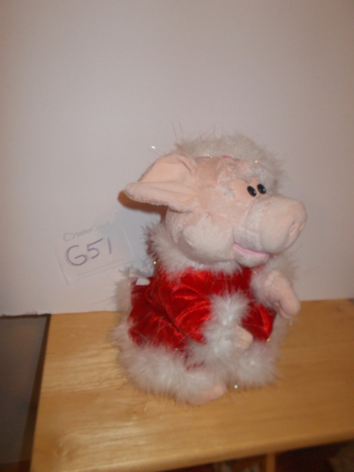 Christmas Pig, Animated Singing And Dancing, And 10 -4305