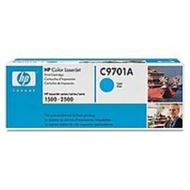 HP C9701A Toner Cartridge for Color Laserjet 1500 and 2500 Series - 4,00... - $56.93