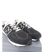 New Balance 574 Little Kid's Shoes Black/Grey PC574-GK - $40.19