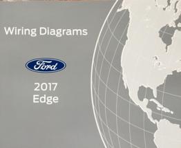 2017 Ford Borde Cableado Eléctrico Diagrama Manual OEM Fábrica - $11.79