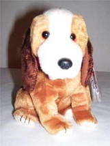 98~TY ORIG Beanie Baby~HOLMES THE DOG~5th Gen HT 7th Gen TT~Heart~MWMT~BBOC - $3.88