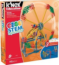 K'NEX Education STEM EXPLORATIONS: Gears Building Set Building Kit - $15.02