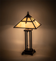 """24"""" High Cross Mission Table Lamp - $927.00"""