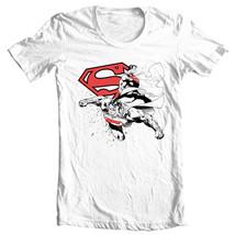 Superman T-shirt DC comic justice league man of steel superhero tee shirt SM1329 image 2