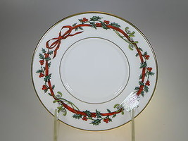 Royal Worcester Holly Ribbons Saucer Only MADE IN ENGLAND (NEW) - $15.85