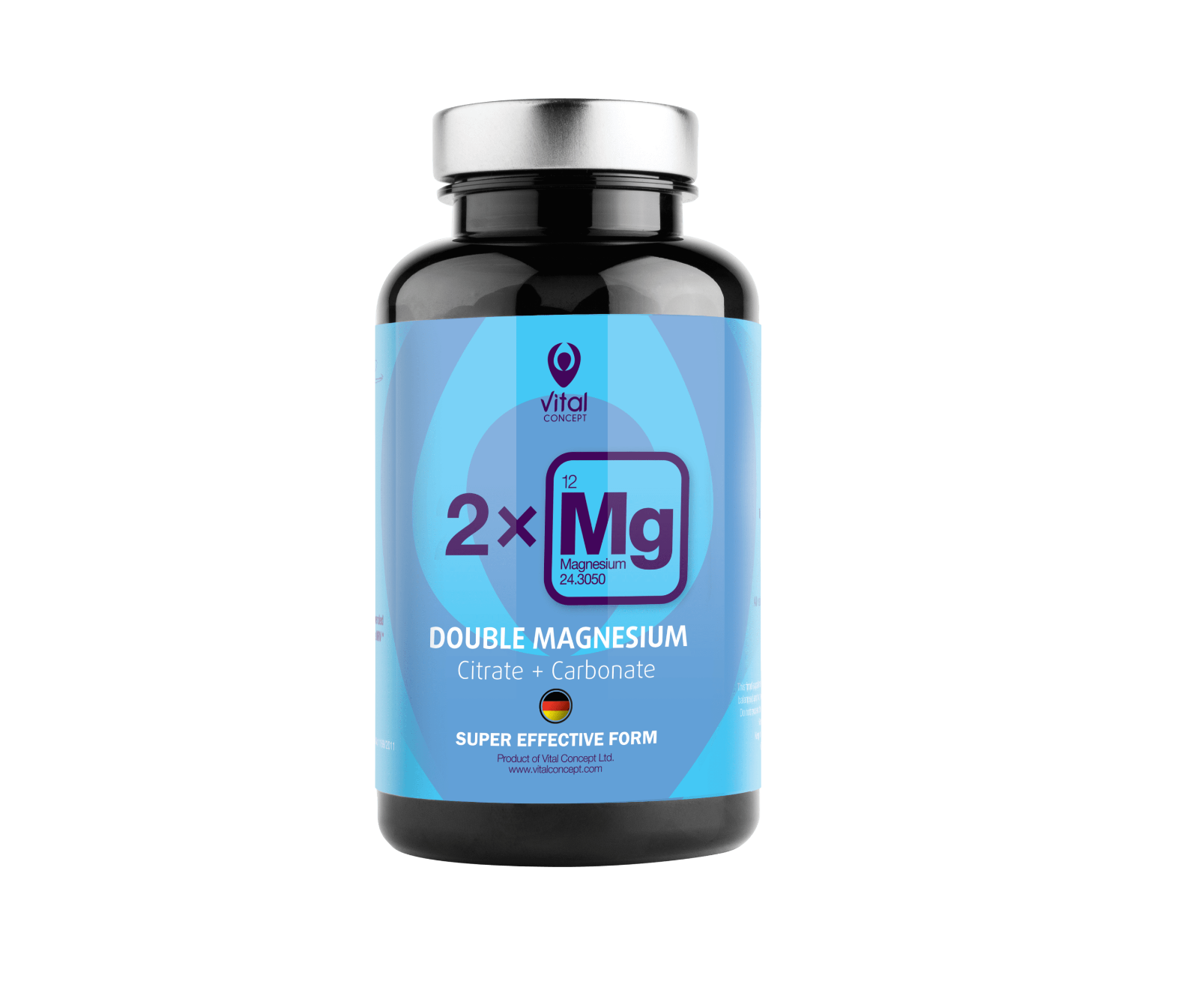Vital Concept Double Magnesium BLOOD VESSELS AND MUSCLES Natural Antioxidant BIO - $33.99