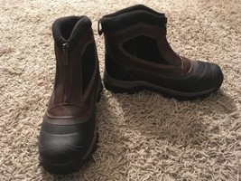 GH Bass & Co Mens Huron Leather Upper Zip-up Boots, Size 7M - $36.99