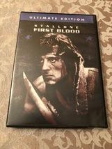 First Blood RAMBO Stallone Dvd  - $5.00