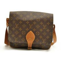 LOUIS VUITTON Monogram Cartouchiere GM Shoulder Bag M51252 LV Auth ar1643 image 2