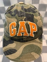 Baby GAP Camouflage Camo Toddler Adjustable Ball Cap Hat - $8.90