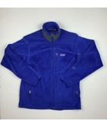 Patagonia Sweater Fleece Zip up Blue Men Sz M - $59.99