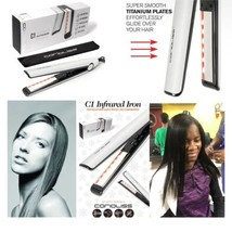 Corioliss C1 Infra Red Titanium Flat Iron - Hair Straightener - $99.00