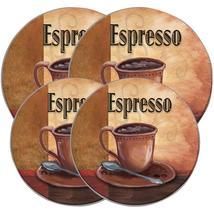 Range Kleen Round Burner Kovers 4 Pk (la Caffee Espresso) - $7.99