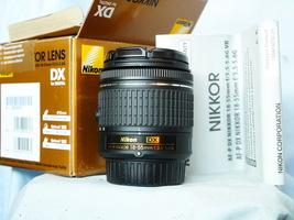 Nikon AF-P Dx Nikkor 18-55mm f/3.5-5.6G Lens Camera Dslr Boxed -TOTALLY MINT- - $65.00