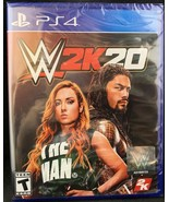 WWE 2K20 (Playstation 4, 2019) PS4 New and sealed - $45.99