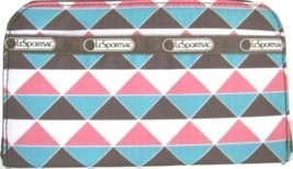 NWT LE SPORTSAC PINK PYRAMID  LILY WALLET/CLUTCH - $670,21 MXN
