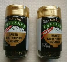 Trader Joe's Nori Komi Furikake Japanese MULTI-PURPOSE Seasoning - Qty 2 - $19.79
