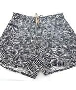 Patagonia Blue Off-White Swim Shorts Trunks Baggies Nylon Pocket Mens 36 - $29.55
