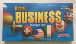 Global Business International Real Estate Game By Masoom Sealed Free Ship - $27.05