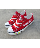 San francisco 49ers shoes sf 49ers sneakers super sowl fashion birthday ... - $55.00+