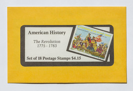American History, The Revolution, 18 Postage St... - $7.50