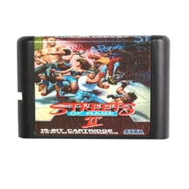 Streets Of Rage 2 16 bit MD Game Card For Sega Mega Drive For Genesis - $9.99