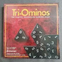 1997 Pressman Tri-Ominos The Classic Triangular Domino Game Sealed  - $17.30