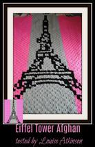 C2C Crochet Graph Corner to Corner Pattern Eiffel Tower Blanket Written ... - $5.50